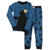 LazyOne Boys Bear Hug Kids PJ Set Long Sleeve