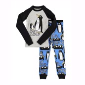LazyOne Out Cold Kids PJ Set Long Sleeve