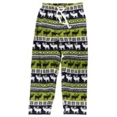 LazyOne Unisex Elk Fair Isle PJ Trousers Adult