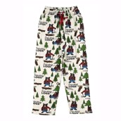 LazyOne Unisex Sawing Logs PJ Trousers Adult