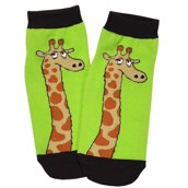 LazyOne Unisex Giraffe Looong Day Adult Slipper Socks