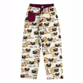 LazyOne Womens Snug as a Pug PJ Trousers