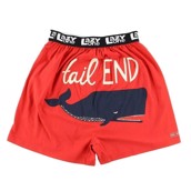 LazyOne Tail end Whale Mens Boxer Shorts