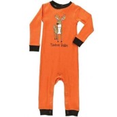 LazyOne Boys Trophy Baby Infant Sleepsuit