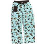 LazyOne Womens Wild Thing Monkey Fitted PJ Trousers
